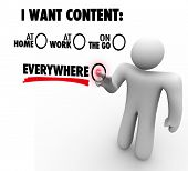 image of clientele  - I Want Content Everywhere  - JPG