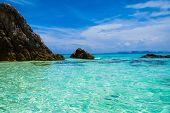 Heavenly Cove Blue Seascape