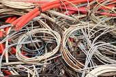 Electrical Copper Cables In A Special Waste Landfill