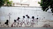Political graffiti, Cordoba