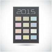 Calendar 2015 Design Template ( A4 Size)