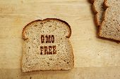 Gmo Bread Text