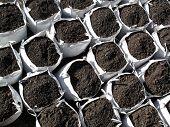 Bags of topsoil