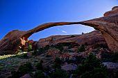 Lanscape Arch, Arches National Park, Utah, Usa