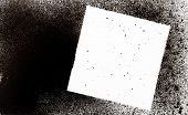 foto of paint spray  - abstract black spray paint with square shape for background use - JPG