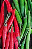picture of chillies  - chilli peppers on the wooden table hot chilli - JPG