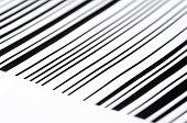 image of barcode  - Black and white barcode - JPG