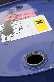 Open chemical barrel