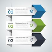 pic of step-up  - Modern minimal arrow infographic elements - JPG