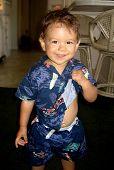 Cute Little Boy poster