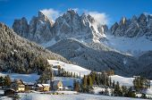 foto of south tyrol  - The small village of St - JPG