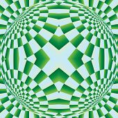 picture of distortion  - Optical expansion illusion - JPG