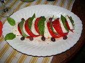 Tomatoes, Mozarella And Basil (Sgseguret Imgp1453)