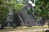 Temple  Stele