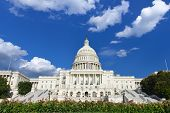 United States Capitol Building in Washington DC USA poster