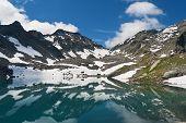 Pietra Rossa Lake, Italy