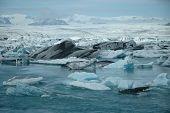 Vantajokull Glacier, Iceland