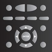 vector remote tv control