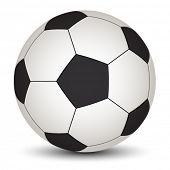 Постер, плакат: вектор футбольный мяч
