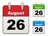 calendario de Vector