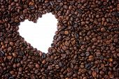 coffee valentine frame background