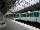 Subway Station In Paris