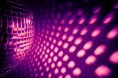 purple disco backdrop