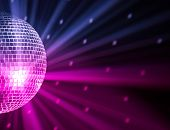 luces de fiesta disco ball