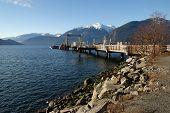Dock At Porteau Cove Provincial Park, British Columbia