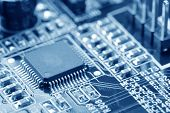 stock photo of transistors  - close - JPG