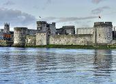 King John's castle in Limerick