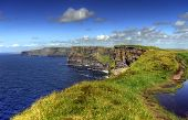 Cliffs of Moher - highest cliffs in Europe