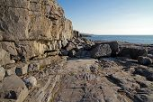 Rocky cliff of Fanore - Ireland