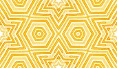 Orange Geometric Watercolor. Delicate Seamless Pattern. Hand Drawn Stripes. Brush Texture. Fair Chev poster