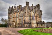 Blarney House at castle gardens - Co. Cork - Ireland