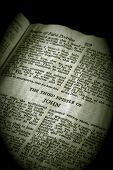 Bíblia série John 3 sépia