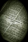 Bíblia série John sépia