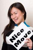 Nice Move - Sign Series