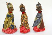 African dolls  from Swaziland