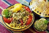 Moroccan chermoula fish tajine