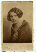 Vintage portrait of a woman