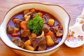 picture of hungarian  - Hungarian goulash - JPG