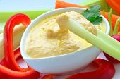 Hummus as a dip