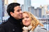 Inter-ethnic couple in NY