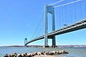 The Verrazano-Narrows Bridge, New York