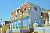 image of nubian  - Nubian village - JPG