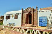 stock photo of nubian  - Nubian village - JPG
