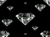 Fondo transparente diamante