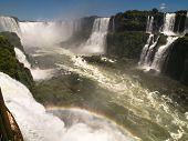 Iguassu Falls, Brazil.