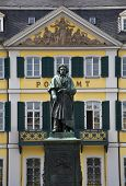 image of bonnes  - Beethoven statue in Bonn - JPG